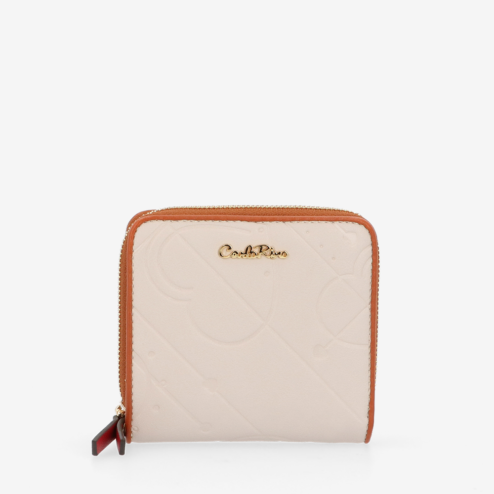 carlorino wallet 0305105K 501 21 1 - Perfect Blush Zip-around Wallet