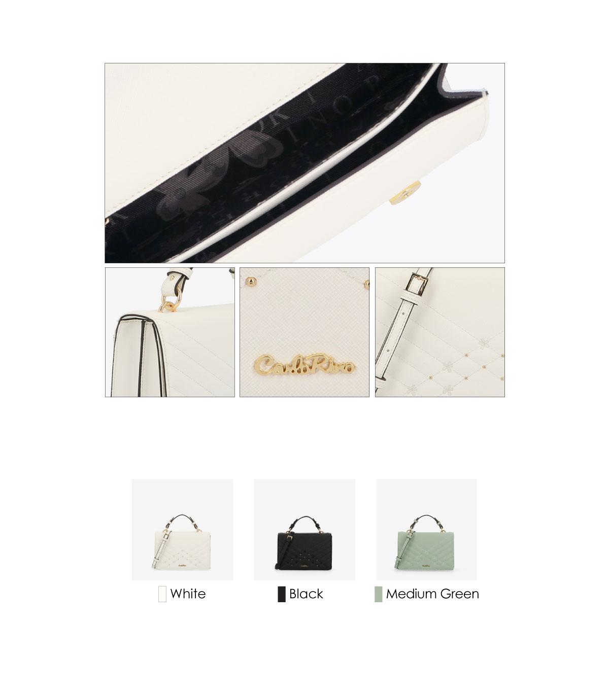 0305058K 002 3 1 - Medallion Top Handle Bag