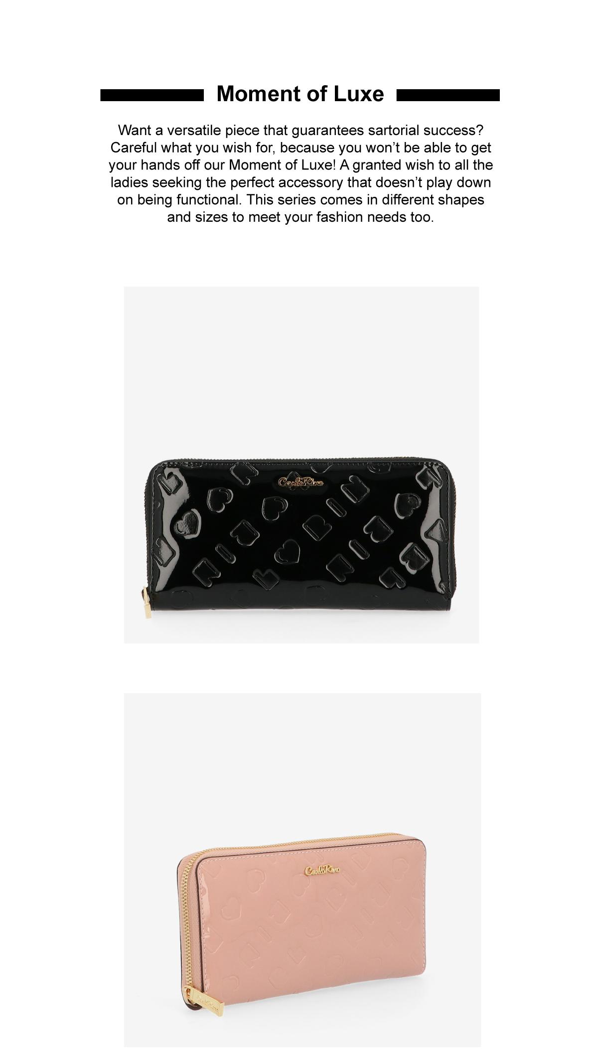 0305070K 502 2 - Moment of Luxe Zip-around Wallet