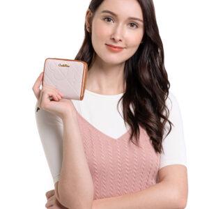 Perfect Blush Zip-around Wallet