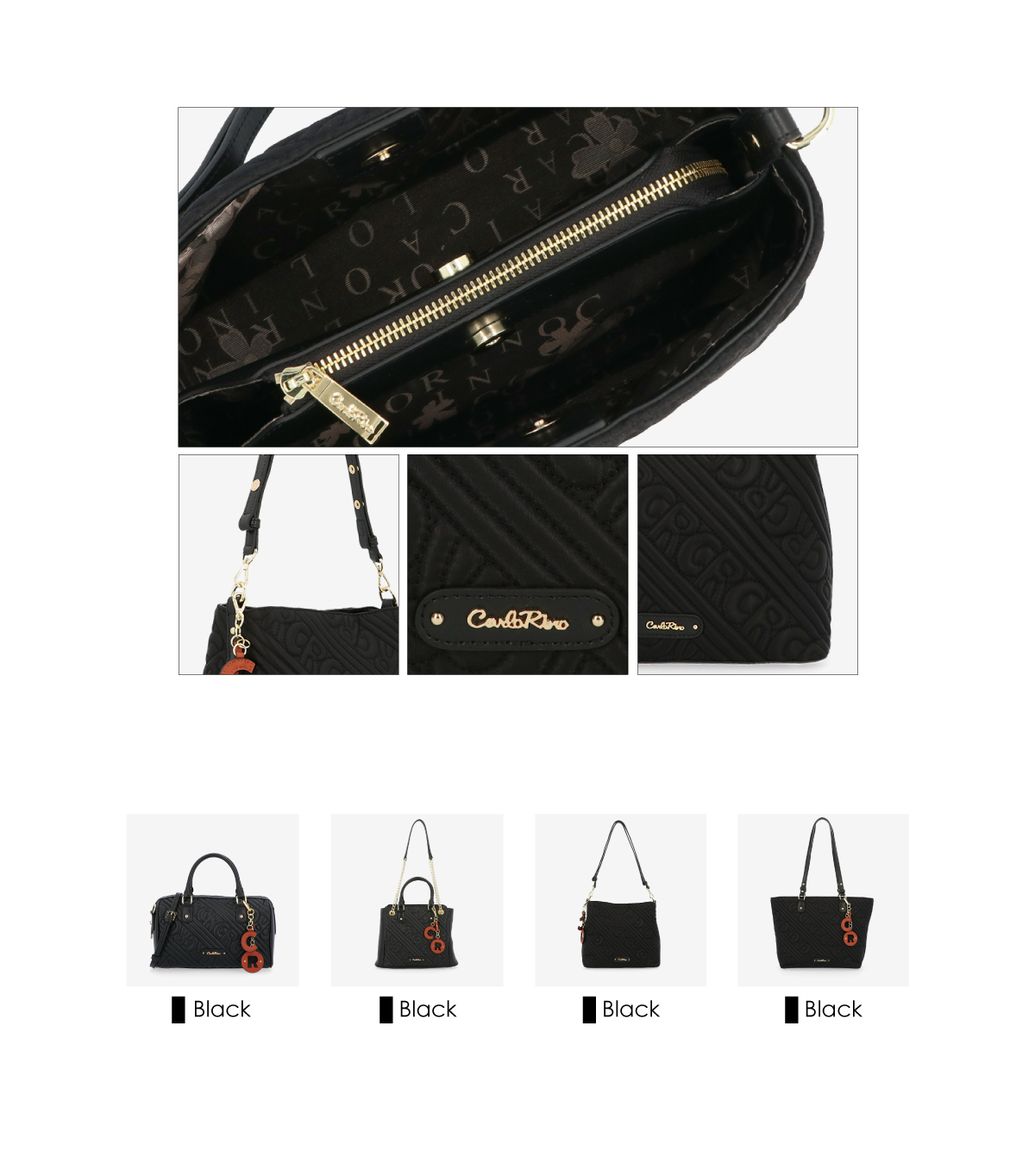 0305135J 003 3 - Dangerously Black Shoulder Bag