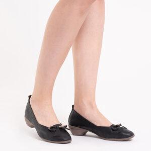 33310 J011 08 300x300 - Artisinal Bow Low Heel Ballerina Pumps