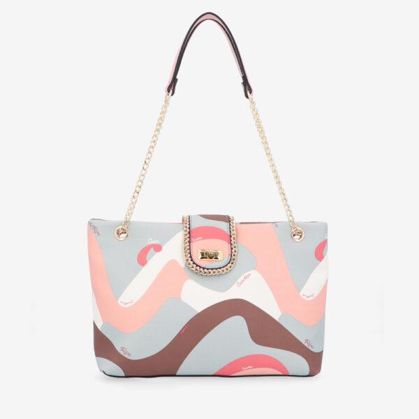 carlorino bag 0304947H 001 24 1 600x600 - Good Times With Print Tote Bag