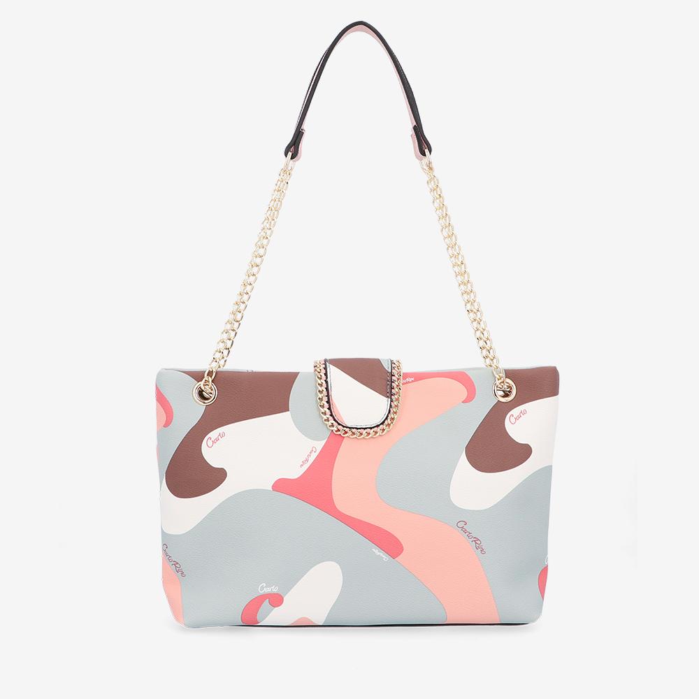 carlorino bag 0304947H 001 24 2 - Good Times With Print Tote Bag