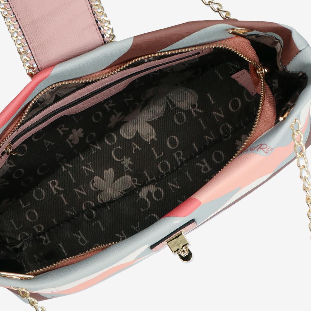 carlorino bag 0304947H 001 24 4 - Good Times With Print Tote Bag