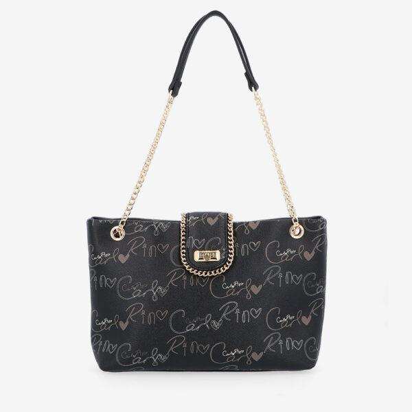 carlorino bag 0304947H 003 08 1 600x600 - Good Times With Print Tote Bag