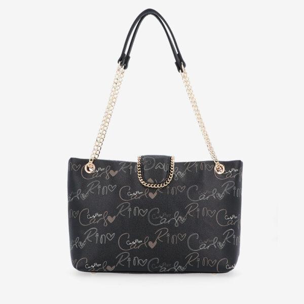 carlorino bag 0304947H 003 08 2 600x600 - Good Times With Print Tote Bag