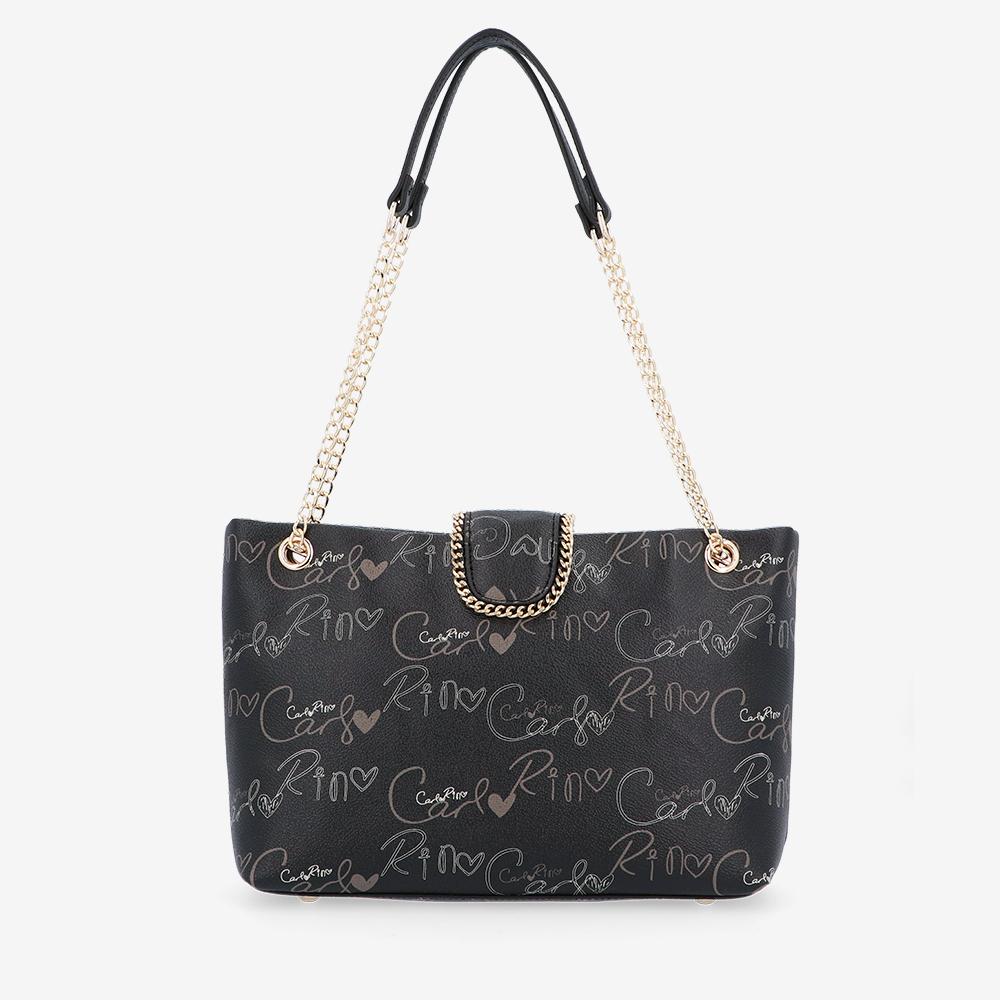 carlorino bag 0304947H 003 08 2 - Good Times With Print Tote Bag