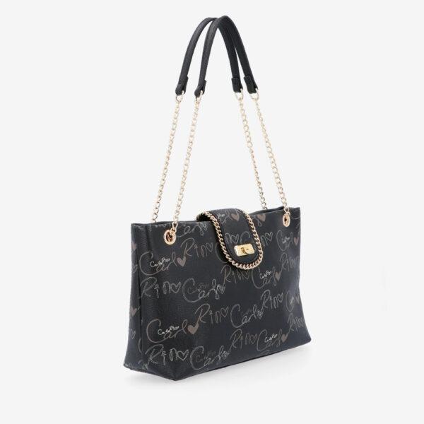 carlorino bag 0304947H 003 08 3 600x600 - Good Times With Print Tote Bag