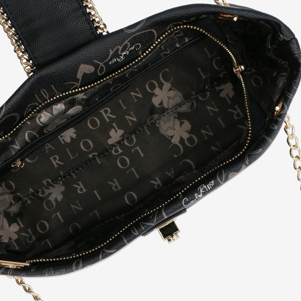 carlorino bag 0304947H 003 08 4 - Good Times With Print Tote Bag