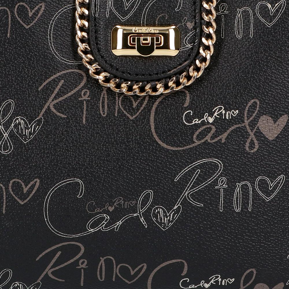 carlorino bag 0304947H 003 08 5 - Good Times With Print Tote Bag