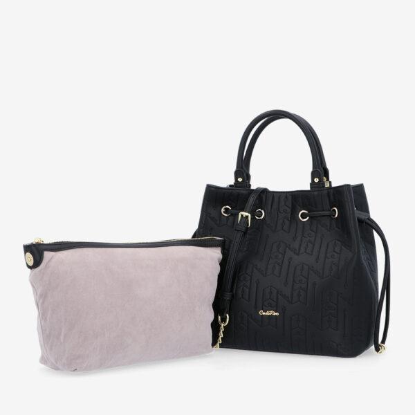 carlorino bag 0305050J 001 08 1 600x600 - Fashion Forward 2-in-1 Drawstring Top Handle