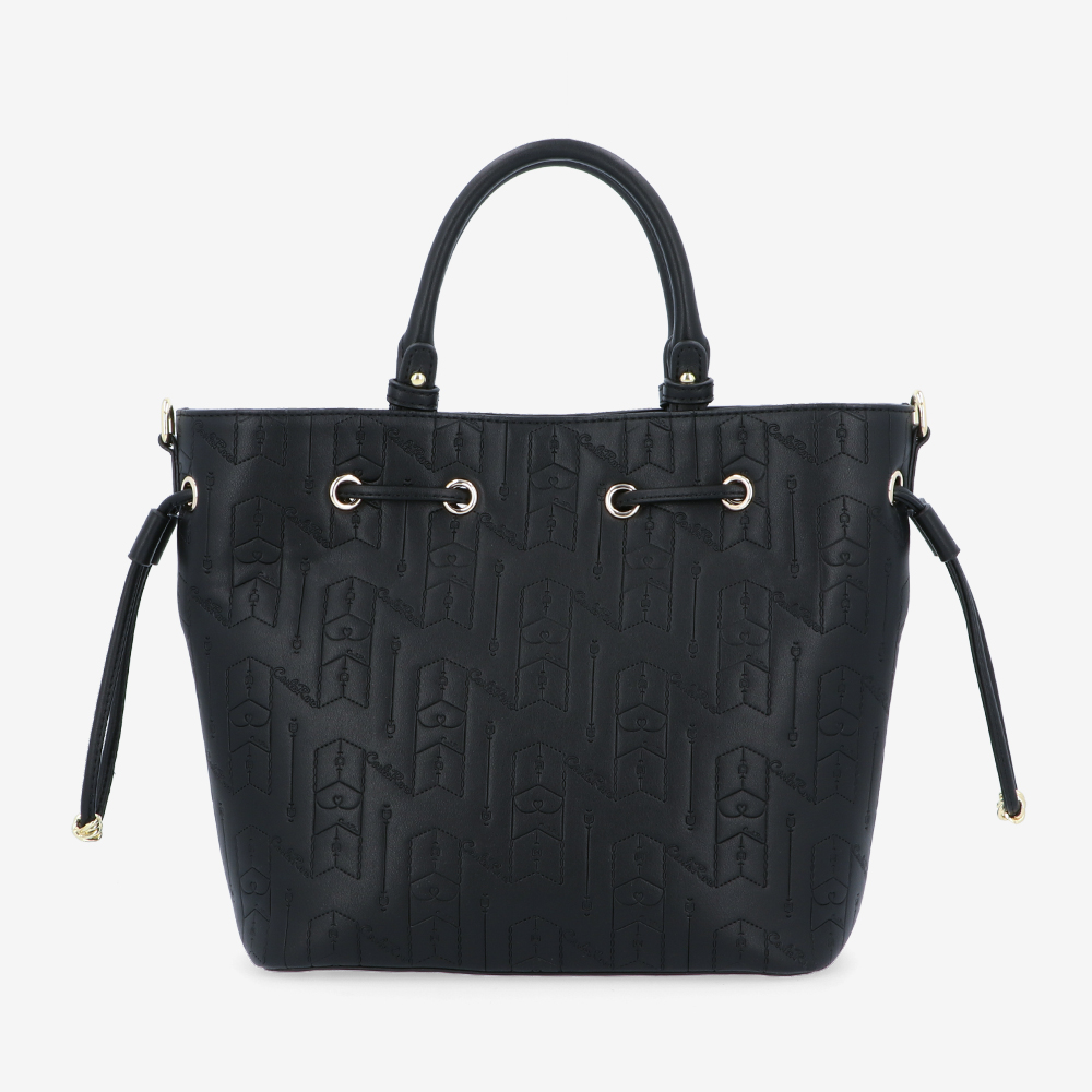 carlorino bag 0305050J 001 08 2 - Fashion Forward 2-in-1 Drawstring Top Handle