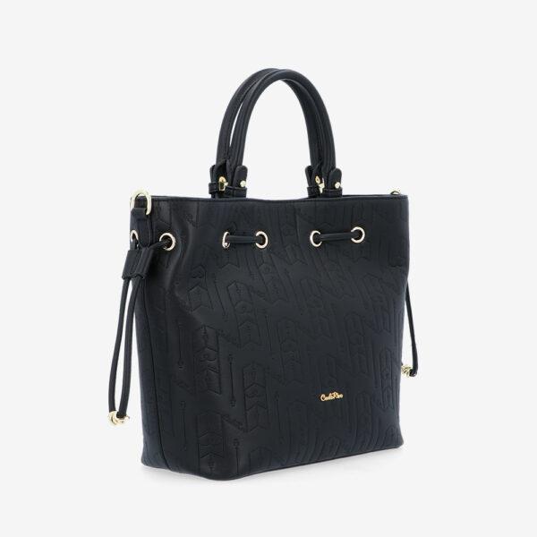 carlorino bag 0305050J 001 08 3 600x600 - Fashion Forward 2-in-1 Drawstring Top Handle