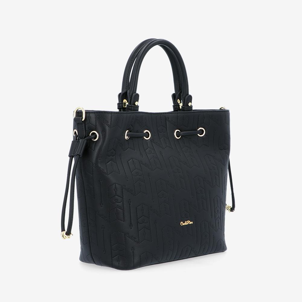 carlorino bag 0305050J 001 08 3 - Fashion Forward 2-in-1 Drawstring Top Handle