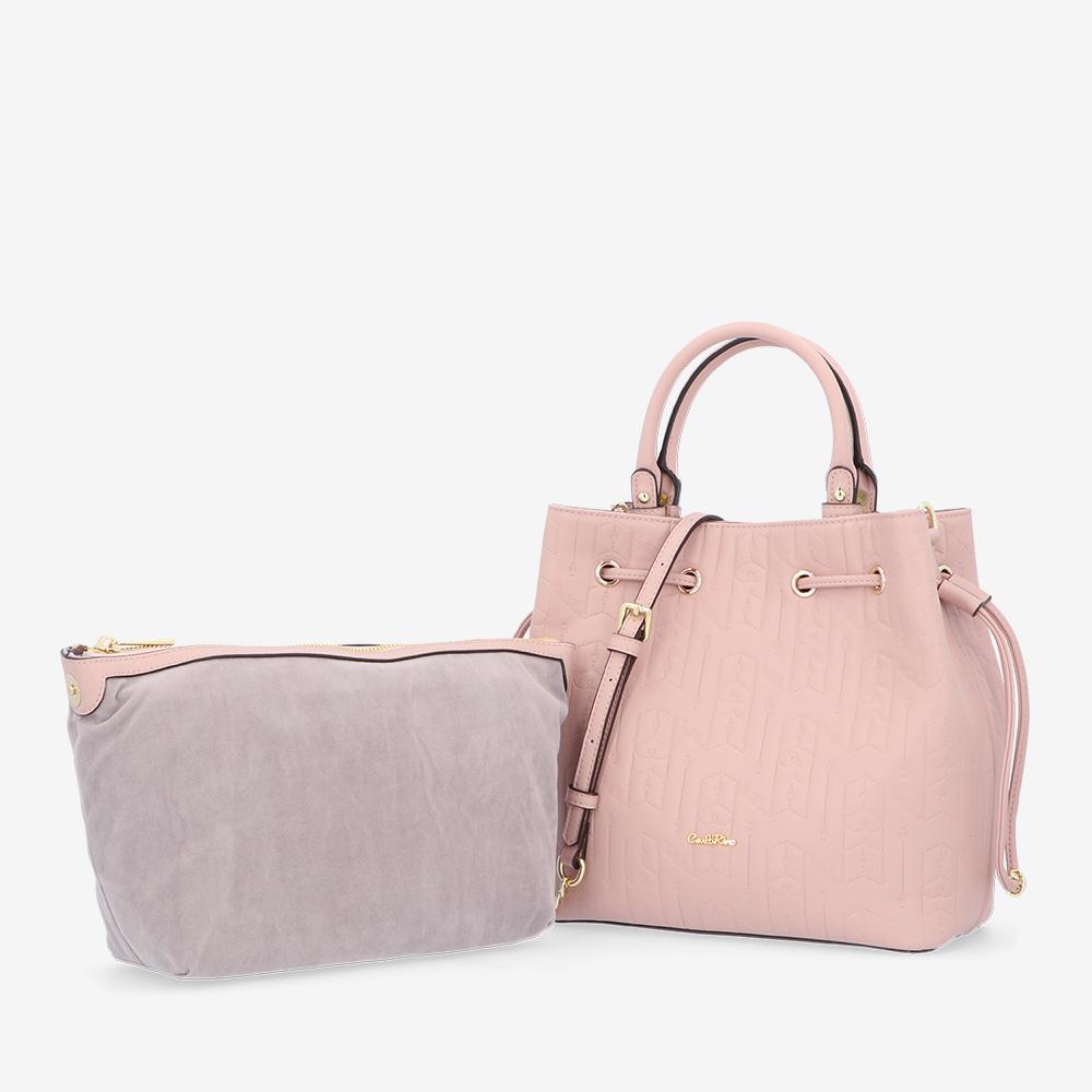carlorino bag 0305050J 001 24 1 - Fashion Forward 2-in-1 Drawstring Top Handle