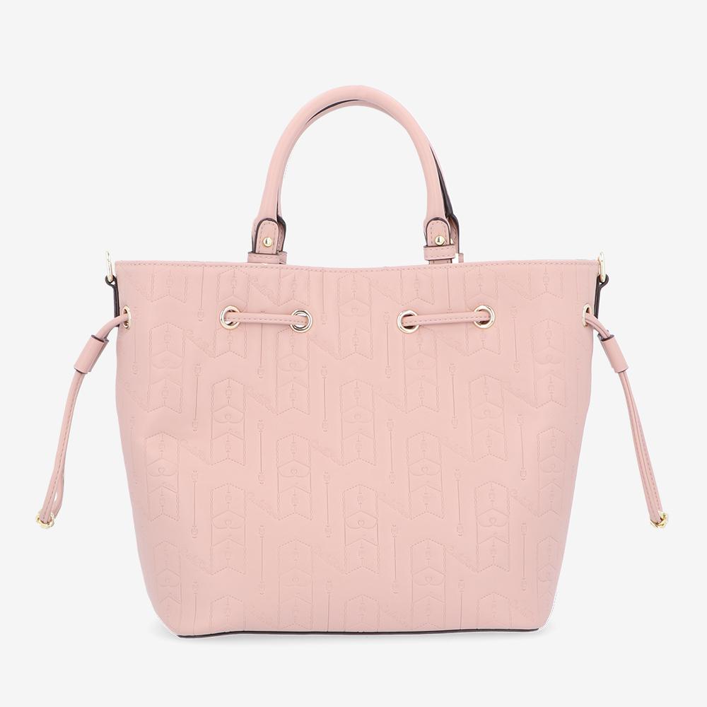 carlorino bag 0305050J 001 24 2 - Fashion Forward 2-in-1 Drawstring Top Handle