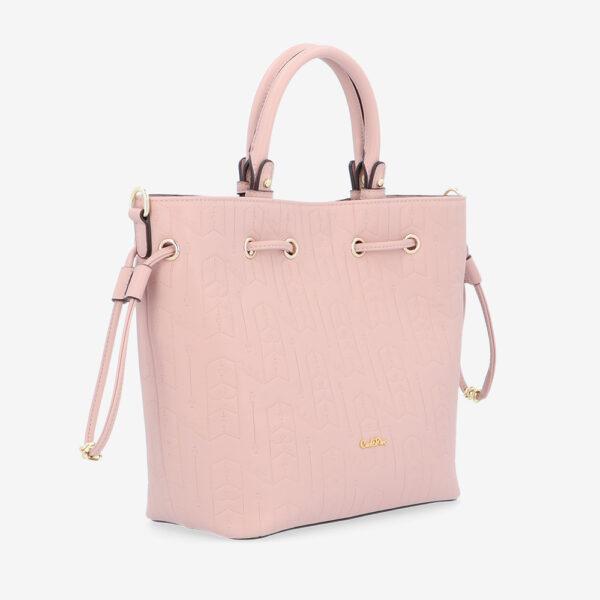 carlorino bag 0305050J 001 24 3 600x600 - Fashion Forward 2-in-1 Drawstring Top Handle