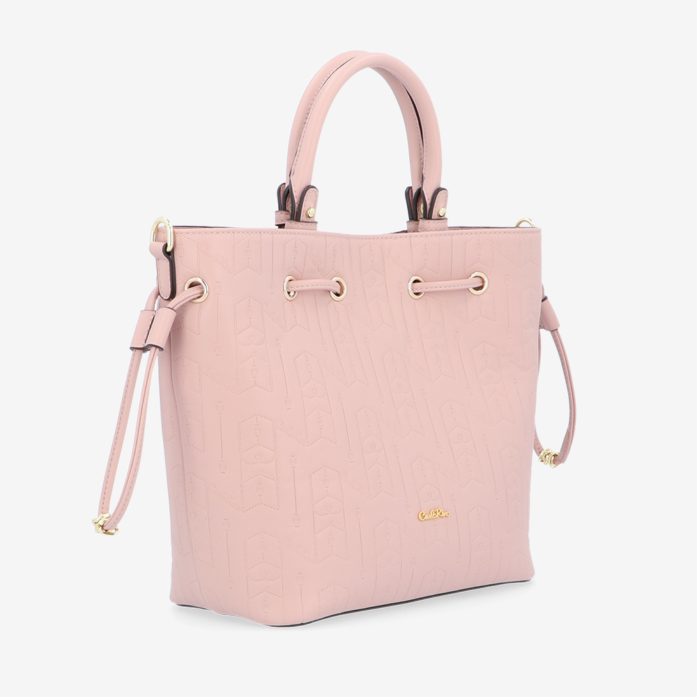carlorino bag 0305050J 001 24 3 - Fashion Forward 2-in-1 Drawstring Top Handle