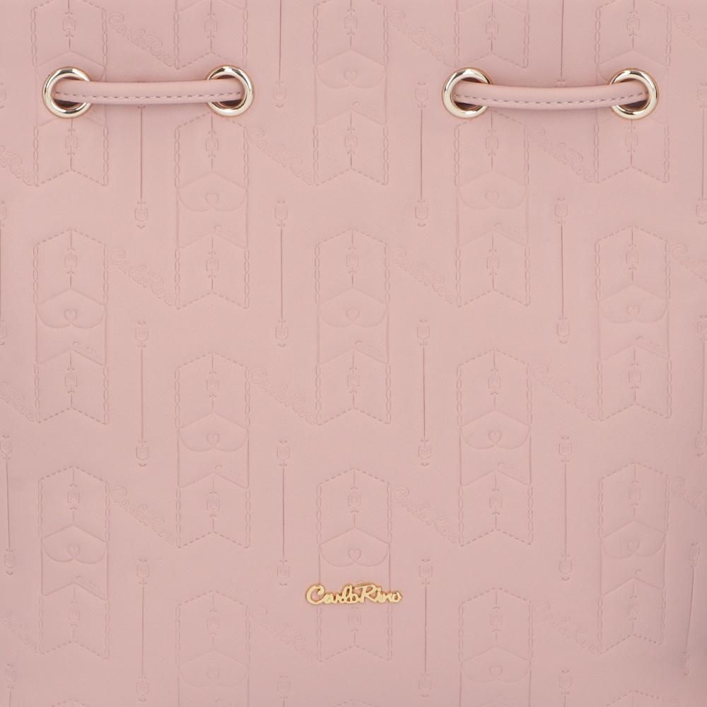 carlorino bag 0305050J 001 24 5 - Fashion Forward 2-in-1 Drawstring Top Handle