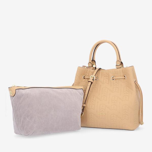 carlorino bag 0305050J 001 31 1 600x600 - Fashion Forward 2-in-1 Drawstring Top Handle