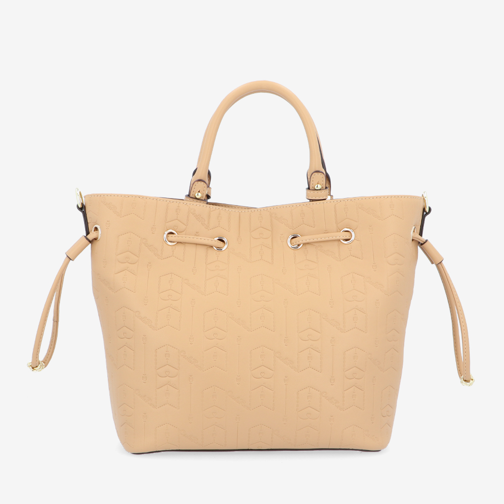 carlorino bag 0305050J 001 31 2 - Fashion Forward 2-in-1 Drawstring Top Handle