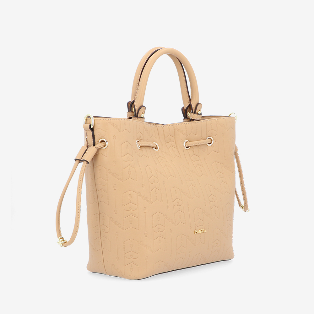 carlorino bag 0305050J 001 31 3 - Fashion Forward 2-in-1 Drawstring Top Handle