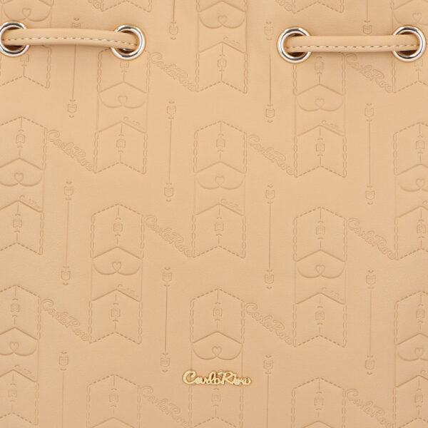 carlorino bag 0305050J 001 31 5 600x600 - Fashion Forward 2-in-1 Drawstring Top Handle