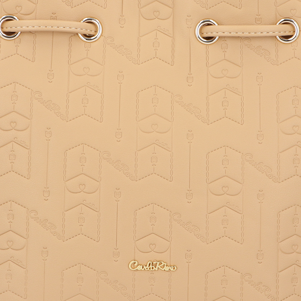 carlorino bag 0305050J 001 31 5 - Fashion Forward 2-in-1 Drawstring Top Handle