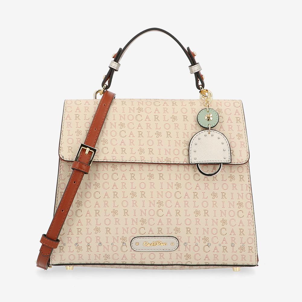 carlorino bag 0305061K 002 05 1 - Dream Come True Top Handle