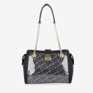 carlorino bag 0305098J 002 08 1 300x300 - Thunderstruck Chain Link Upsized Shoulder Bag