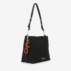 carlorino bag 0305135J 103 08 3 - Dangerously Black Shoulder Bag