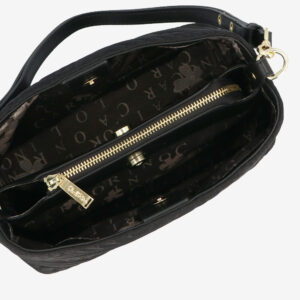 carlorino bag 0305135J 103 08 4 - Dangerously Black Shoulder Bag