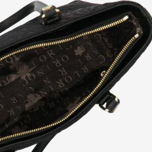 carlorino bag 0305135J 104 08 4 - Dangerously Black Tote