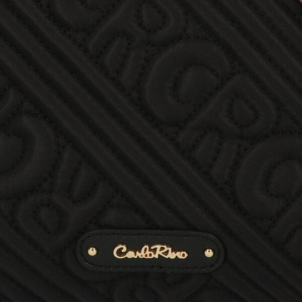 carlorino bag 0305135J 104 08 5 - Dangerously Black Tote