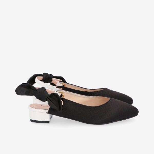 "carlorino shoe 33310 K007 08 2 - Whisper And Sway 1"" Slingback Heels"