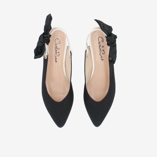 "carlorino shoe 33310 K007 08 3 - Whisper And Sway 1"" Slingback Heels"