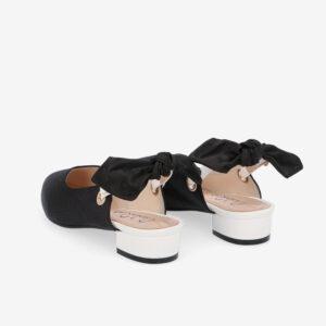 "carlorino shoe 33310 K007 08 4 - Whisper And Sway 1"" Slingback Heels"