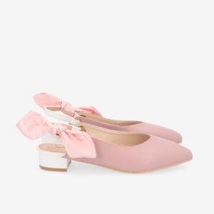 "carlorino shoe 33310 K007 24 2 - Whisper And Sway 1"" Slingback Heels"