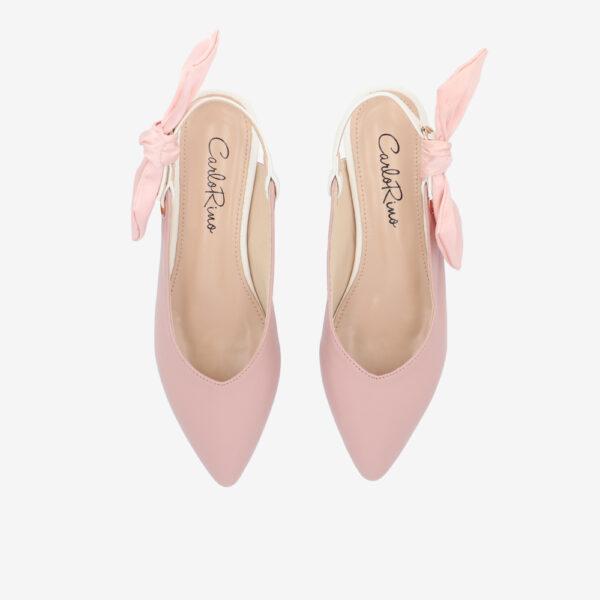 "carlorino shoe 33310 K007 24 3 - Whisper And Sway 1"" Slingback Heels"