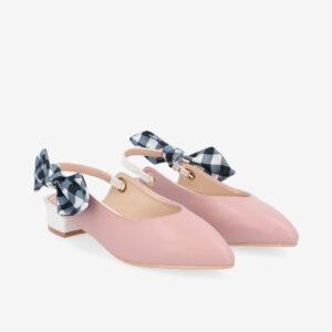"carlorino shoe 33310 K007 24 8 - Whisper And Sway 1"" Slingback Heels"