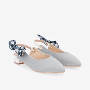 "carlorino shoe 33310 K007 28 8 - Whisper And Sway 1"" Slingback Heels"