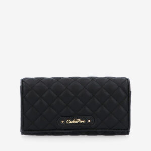 carlorino wallet 0304323A 501 08 1 300x300 - Black In Love with Quilt Chain Link Zip wallet