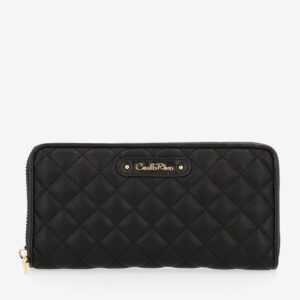 carlorino wallet 0304323A 502 08 1 300x300 - Black In Love with Quilt Chain Link 2-Fold wallet
