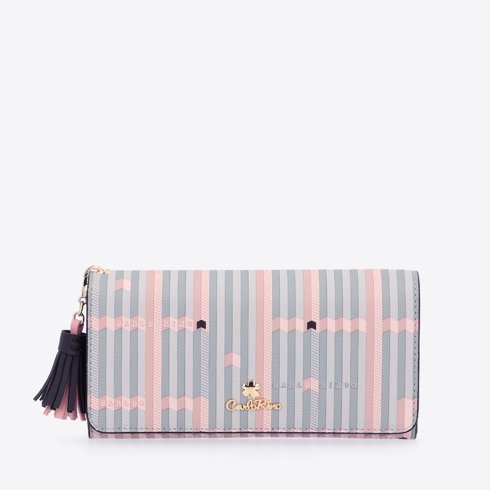 carlorino wallet 0305028J 502 08 1 - Miss Snowball 2-Fold Long Wallet
