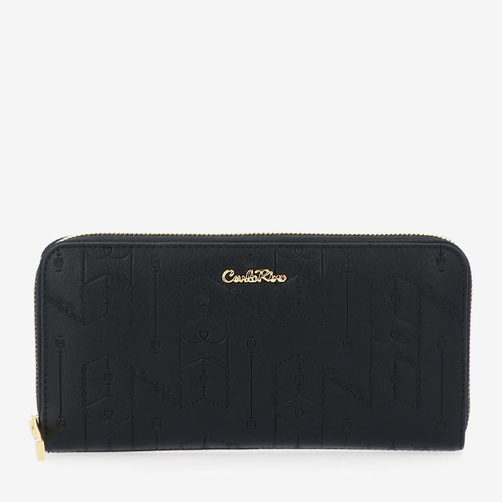carlorino wallet 0305050J 502 08 1 - Fashion Forward Zip-around Wallet