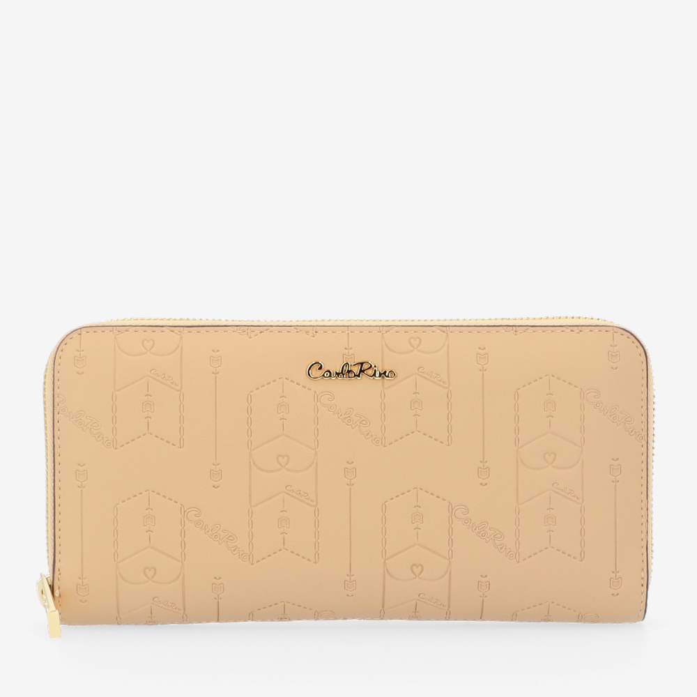 carlorino wallet 0305050J 502 31 1 - Fashion Forward Zip-around Wallet