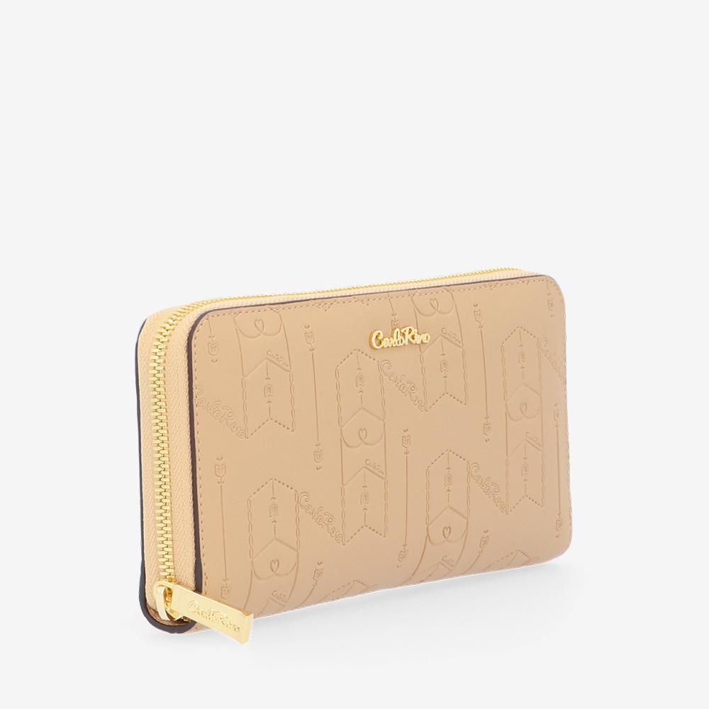 carlorino wallet 0305050J 502 31 3 - Fashion Forward Zip-around Wallet