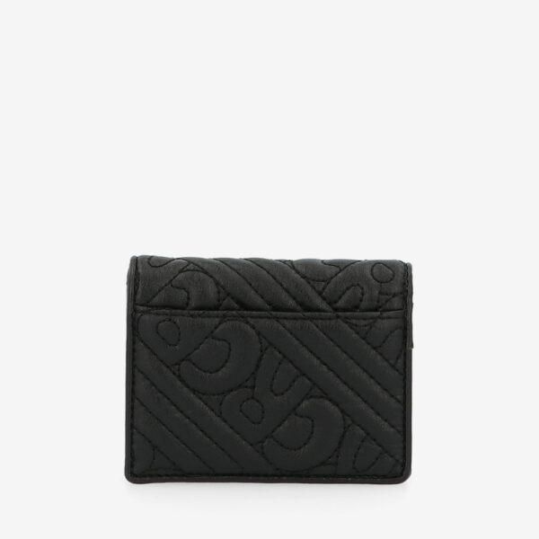 carlorino wallet 0305135J 701 08 2 - Dangerously Black Card Holder