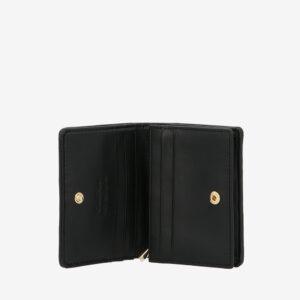 carlorino wallet 0305135J 701 08 4 - Dangerously Black Card Holder